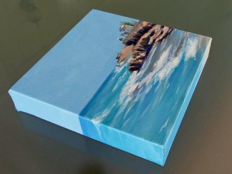 """""""Tides In"""" original fine art by Joanna Bingham"""