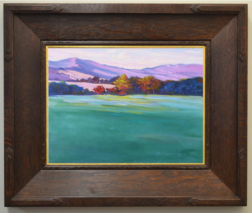 """Last Light of the Day"" original fine art by Rhett Regina Owings"