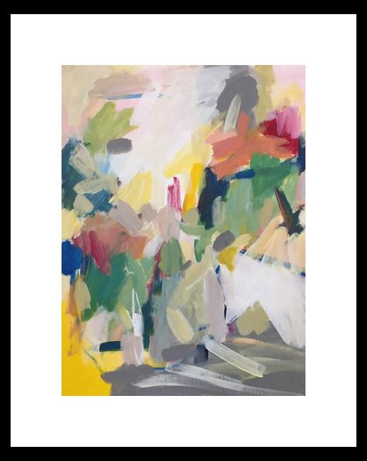 """""""Tropical"""" original fine art by Pamela Munger"""