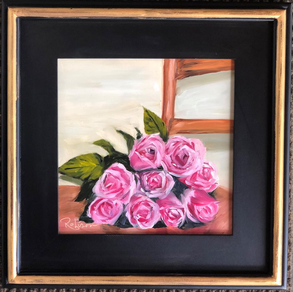 """Fresh from the florist"" original fine art by Renee Robison"