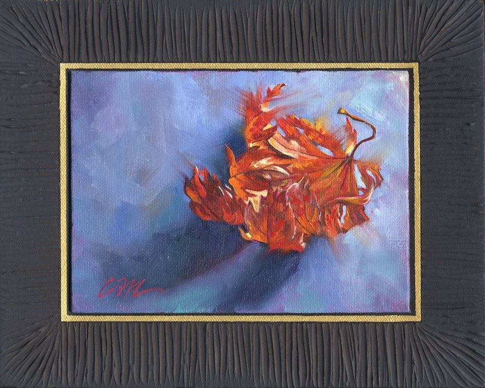"""Tiny Gift"" original fine art by Connie McLennan"