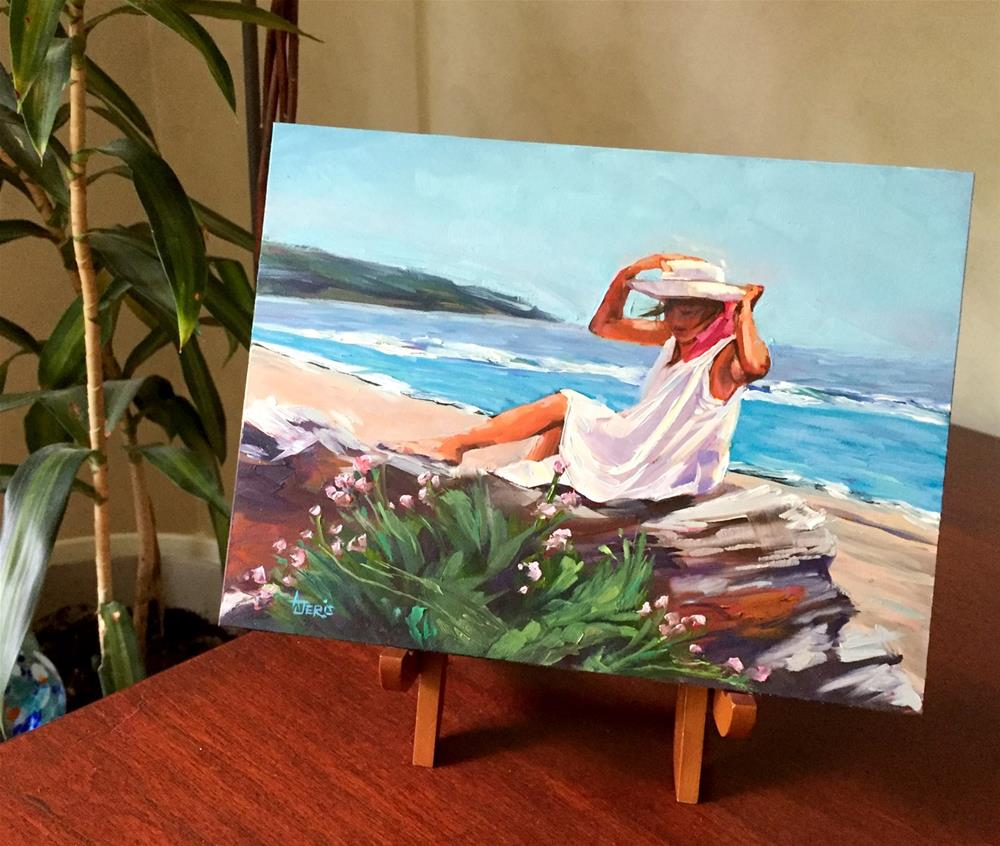 """Warm Breeze"" original fine art by Andrea Jeris"