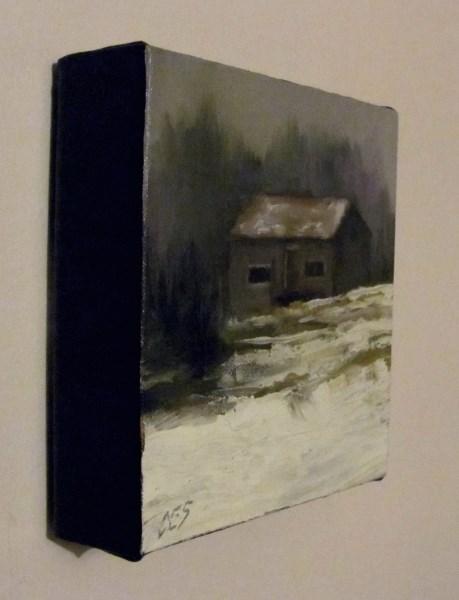 """Old Farm Building"" original fine art by ~ces~ Christine E. S. Code"