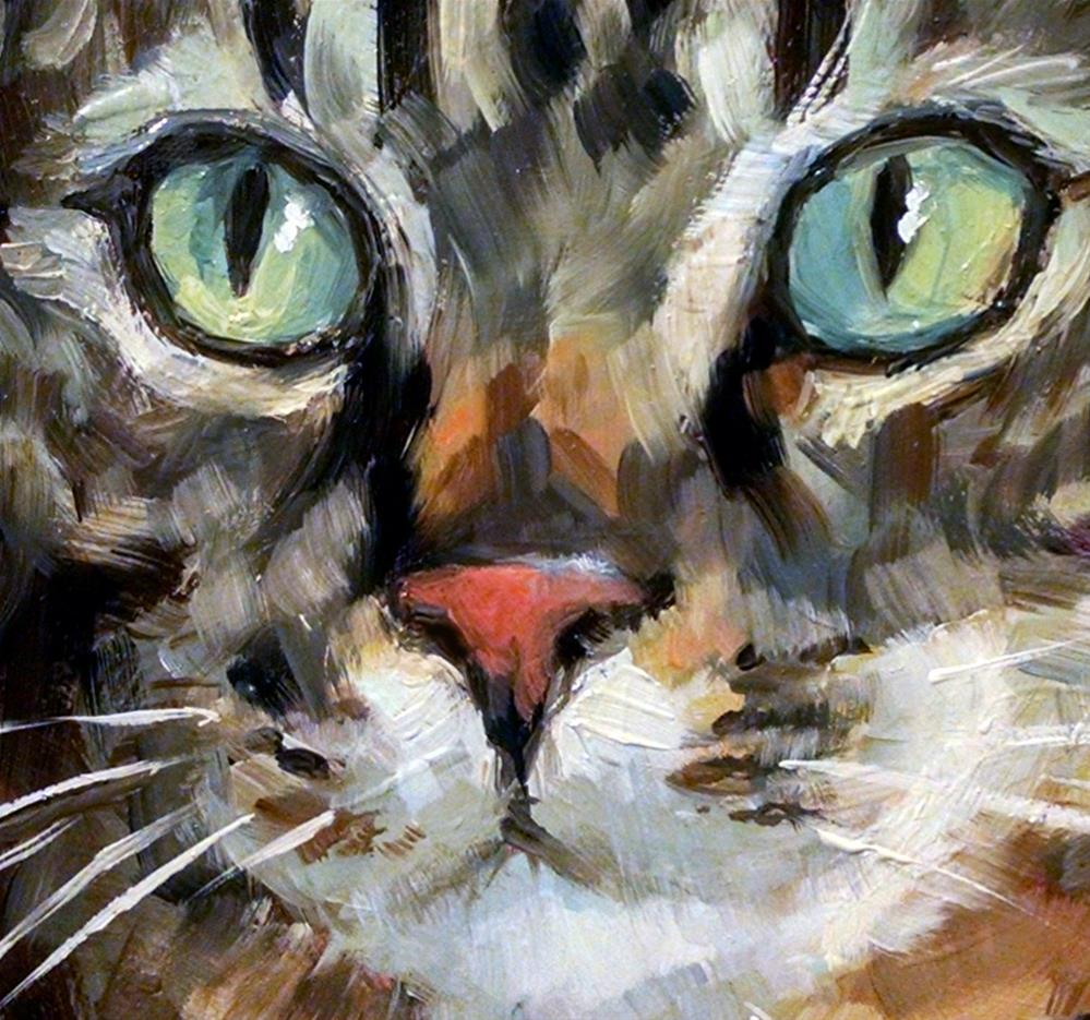 """Classic Tabby"" original fine art by J. Dunster"