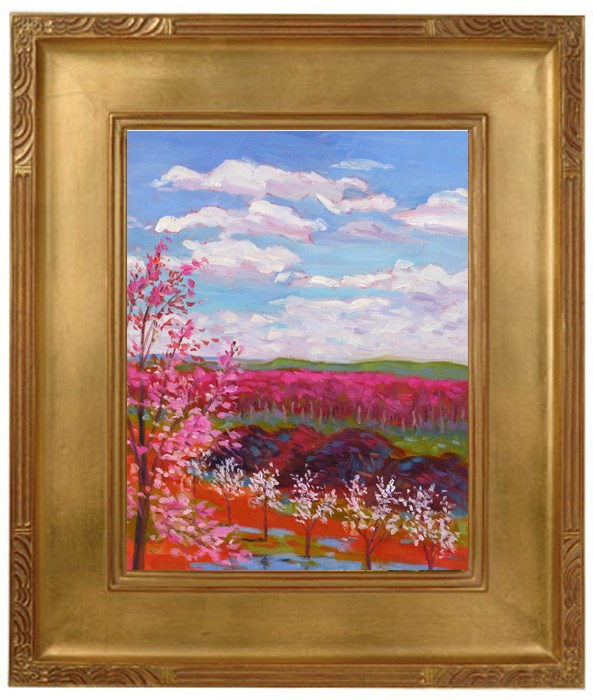 """Tamara's View"" original fine art by Rhett Regina Owings"