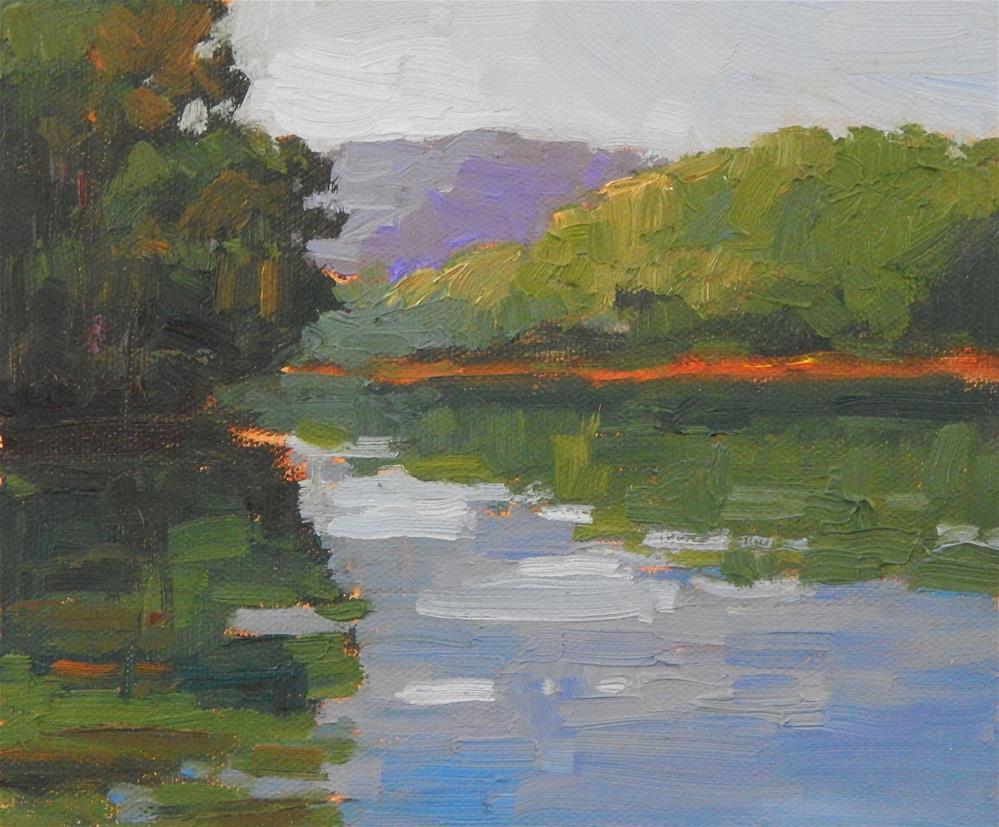 """""""River Colors"""" original fine art by Lisa Kyle"""