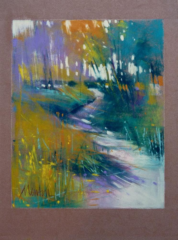 """""""Study - All Things Good and True"""" original fine art by Barbara Benedetti Newton"""