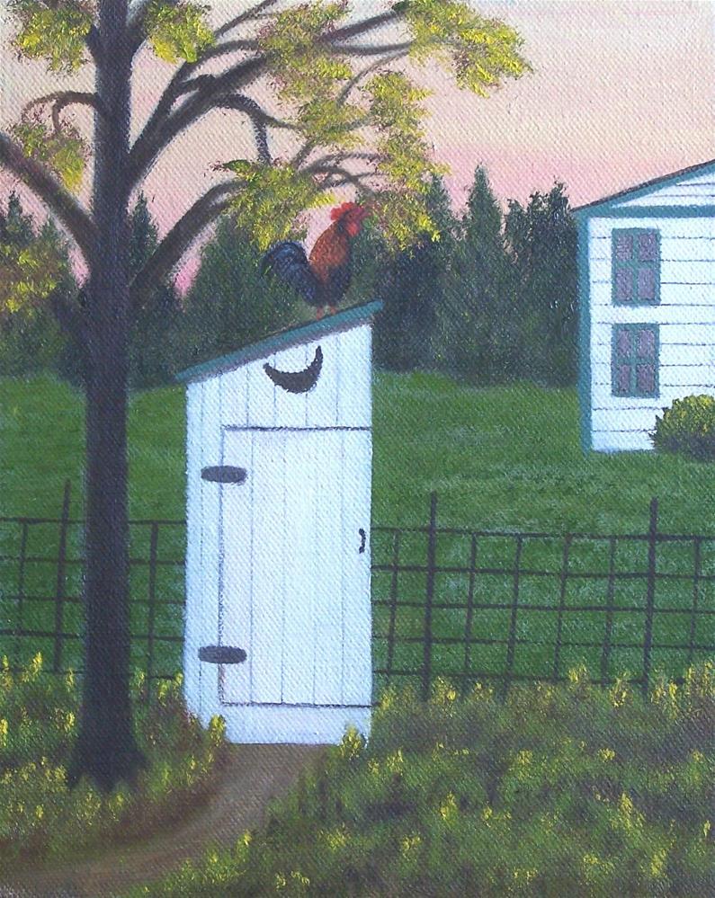 """Morning Greeting"" original fine art by John Marcum"