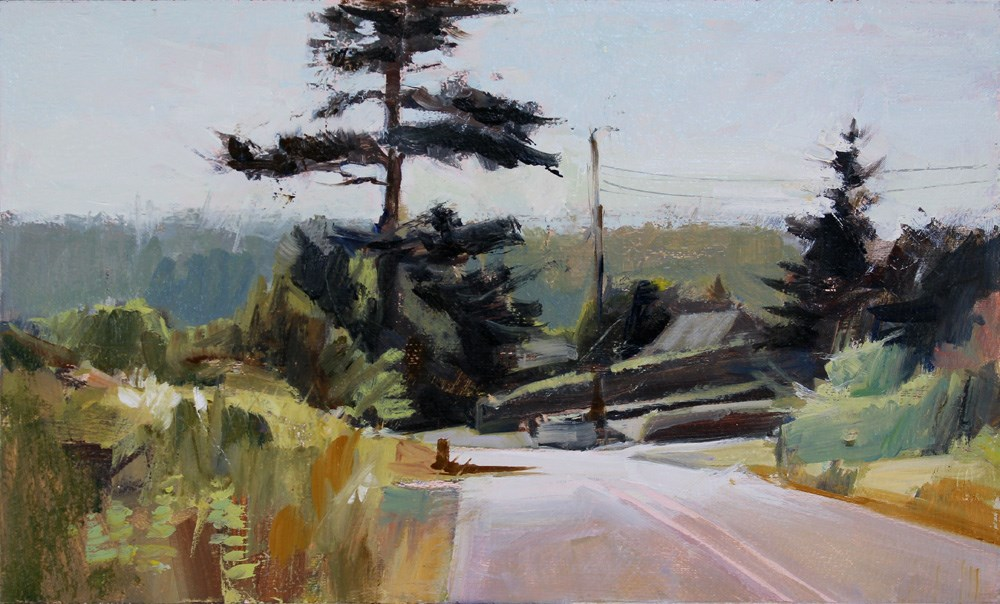 """Big Tree"" original fine art by Gretchen Hancock"