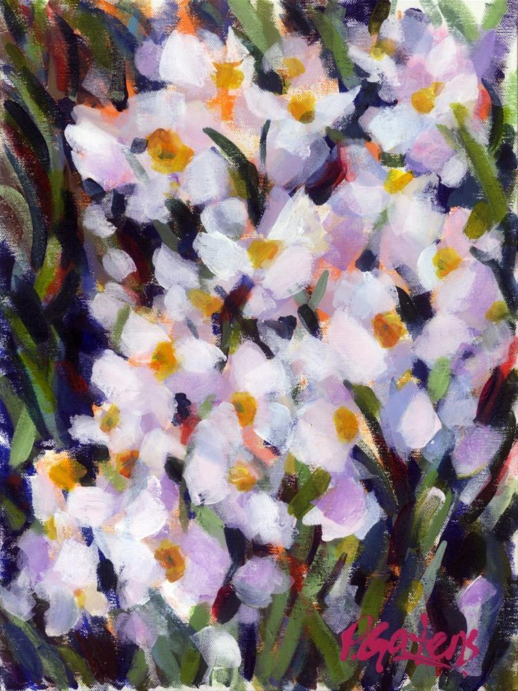"""Deep in Daffodils"" original fine art by Pamela Gatens"