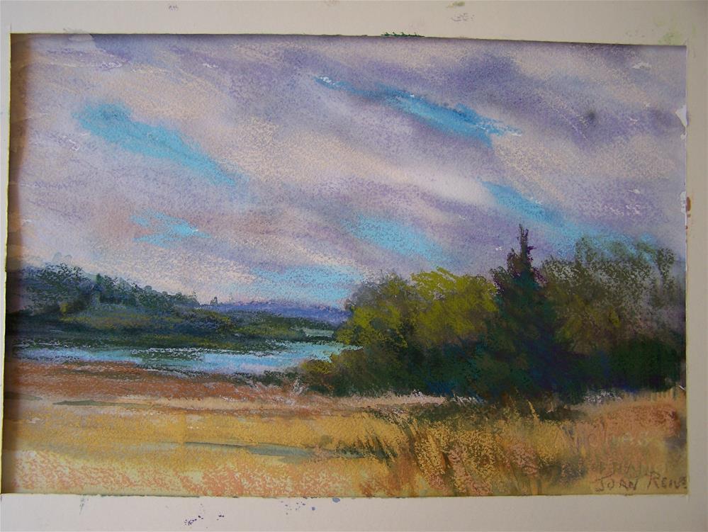 """Summer's End"" original fine art by Joan Reive"