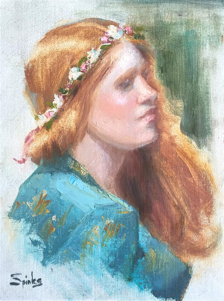 """New Dawn"" original fine art by Johanna Spinks"