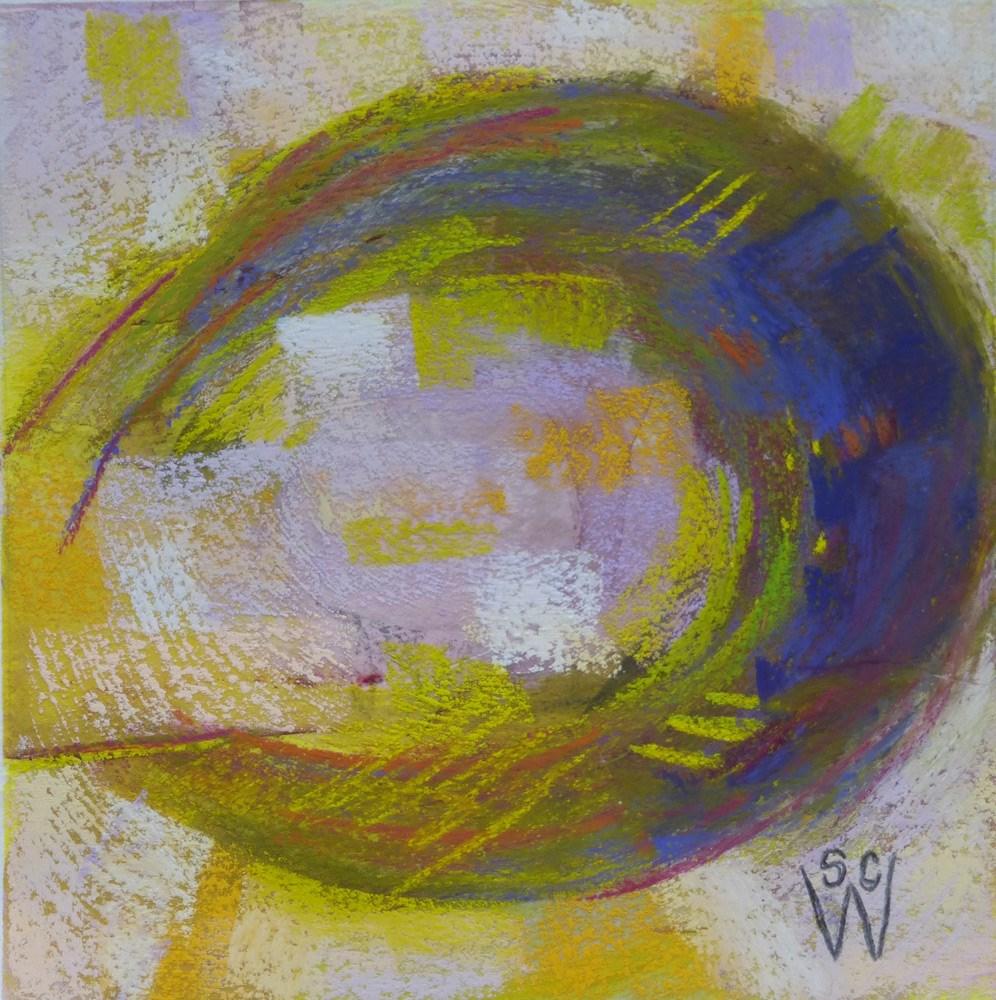 """Nesting"" original fine art by Susan Woodward"