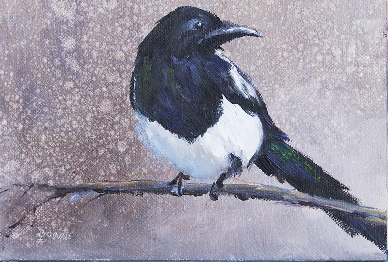 """The Beggar"" original fine art by Bonnie Bowne"