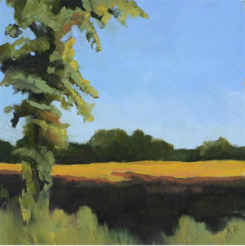 """Near Harvest"" original fine art by Rebecca Helton"