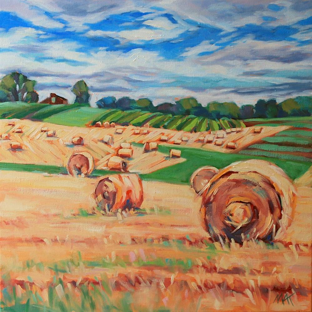 """""""Farm Country"""" original fine art by Mary Anne Cary"""