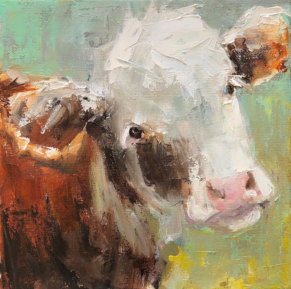 """""""me too"""" original fine art by Carol Carmichael"""