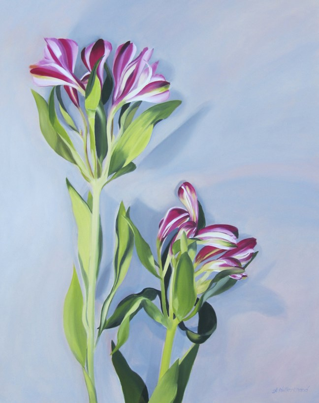 """""""The Dauntless and the Demure"""" original fine art by Amy Hillenbrand"""