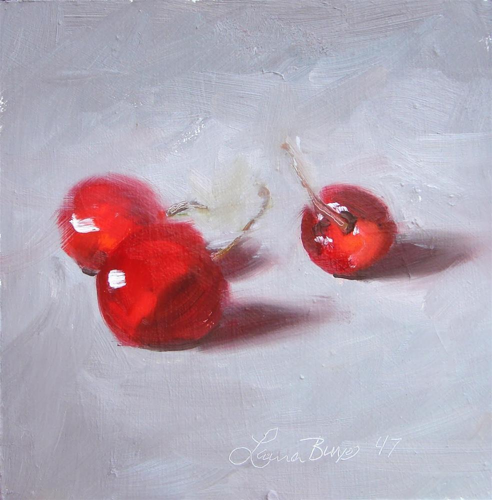 """The Conversation 47"" original fine art by Laura  Buxo"