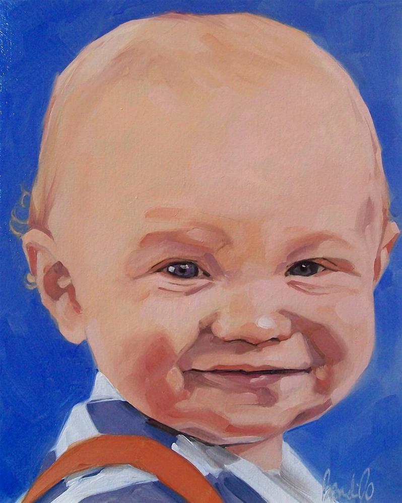 """""""Elias"""" original fine art by Brandi Bowman"""