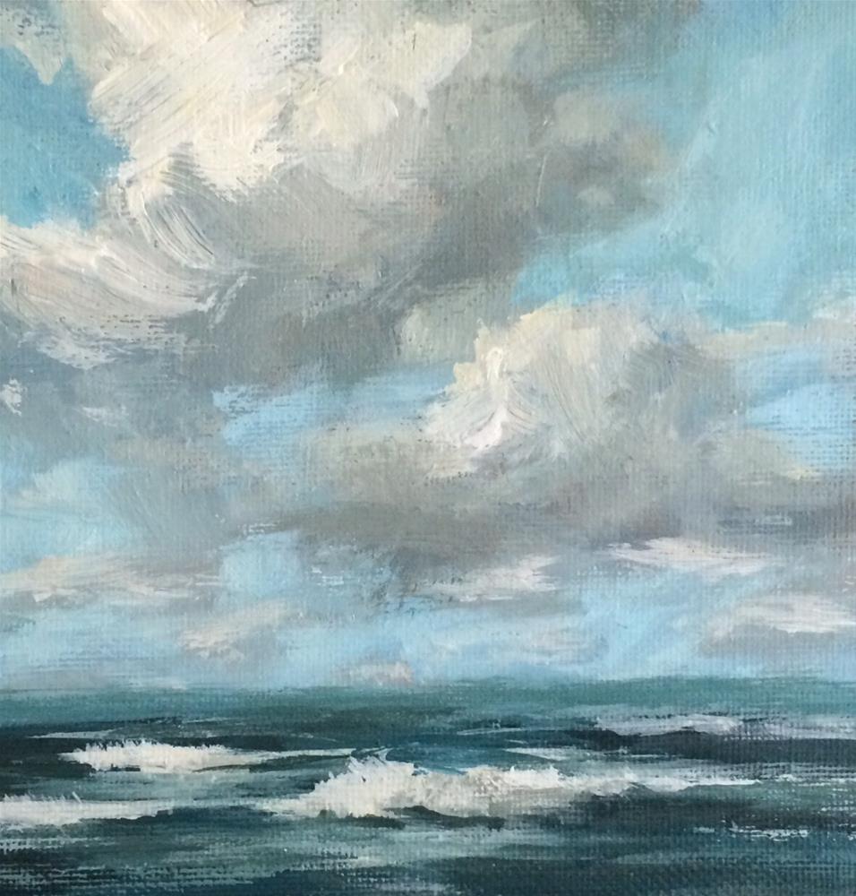 """New Waves"" original fine art by Shannon Bauer"