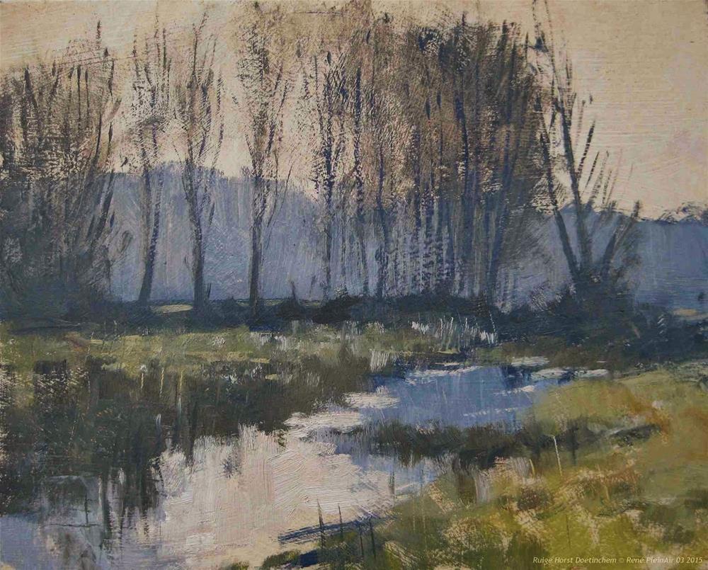 """Ruige Horst Doetinchem, the Netherlands"" original fine art by René PleinAir"