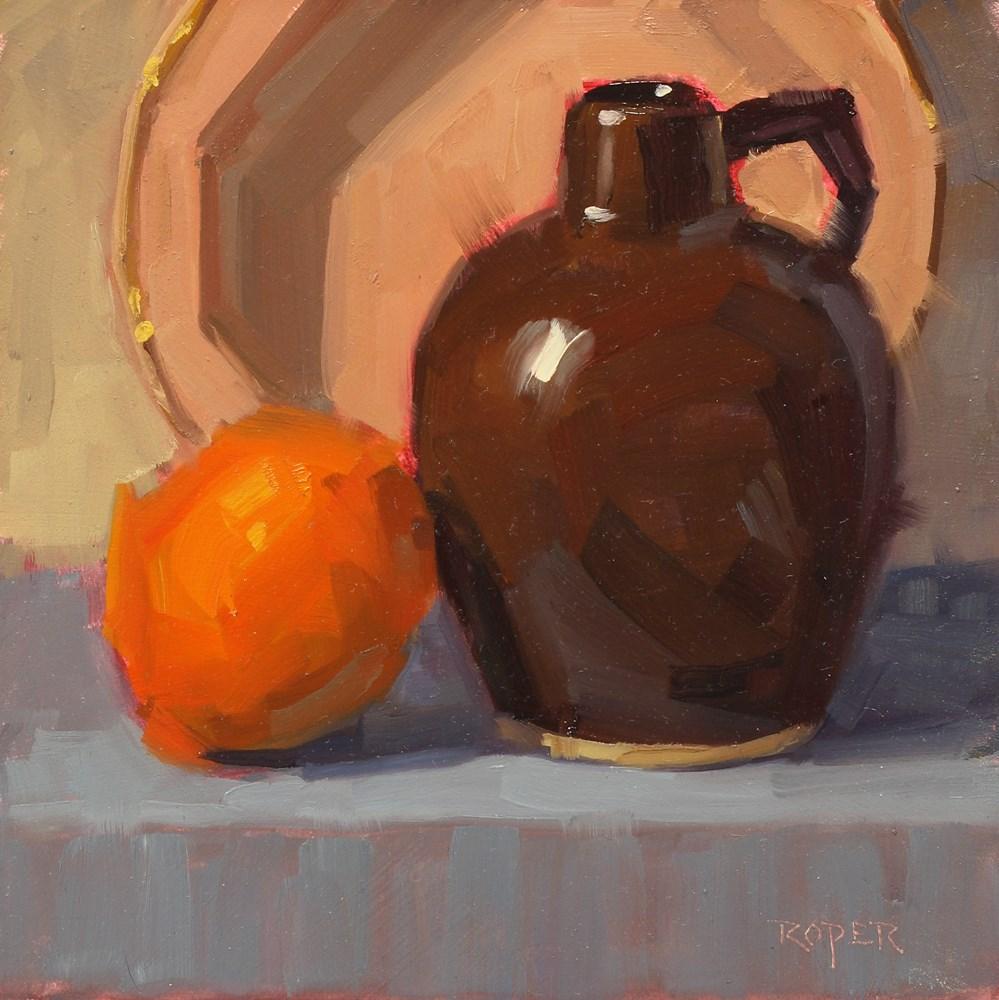 """Little Brown Jug"" original fine art by Stuart Roper"