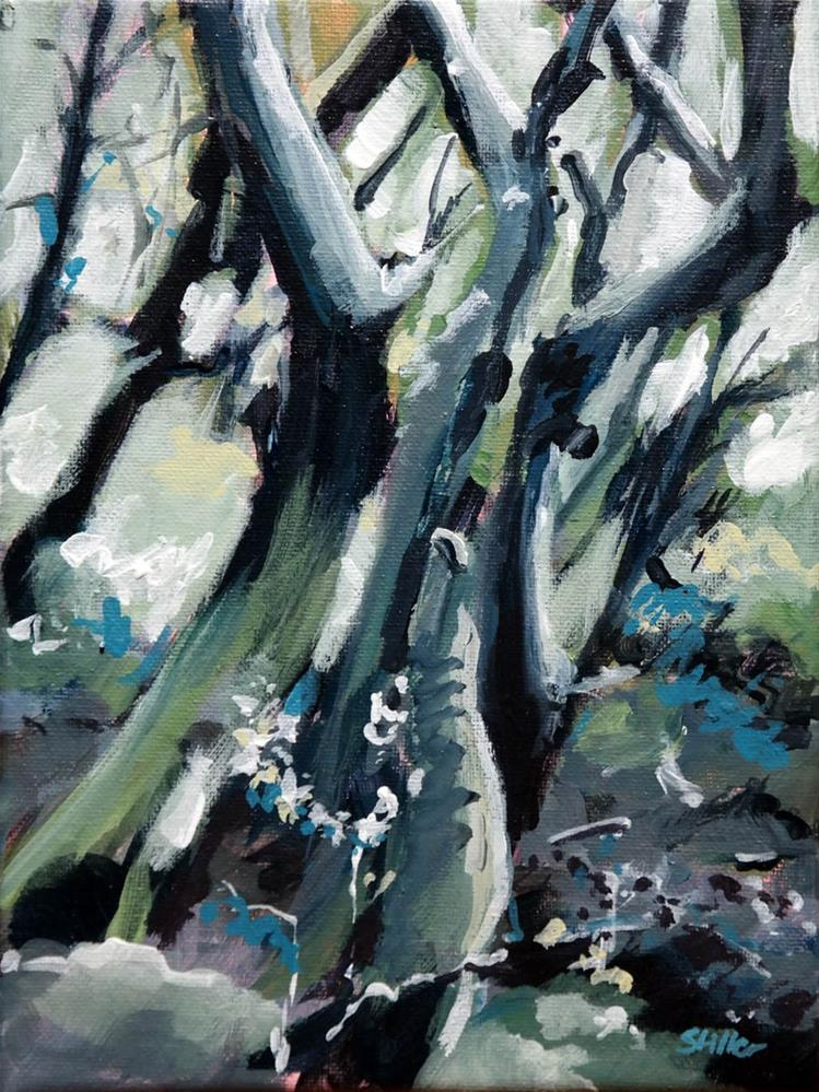"""1472 Day of the Tree"" original fine art by Dietmar Stiller"
