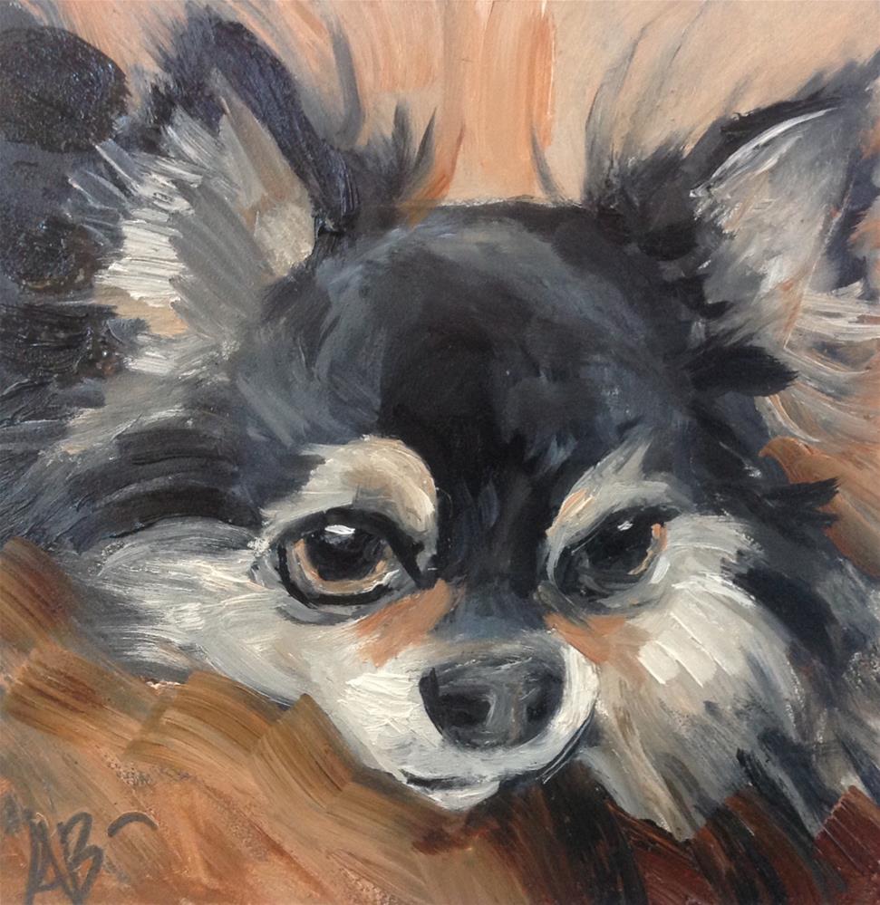 """""""Cute Chihuahua"""" original fine art by Annette Balesteri"""