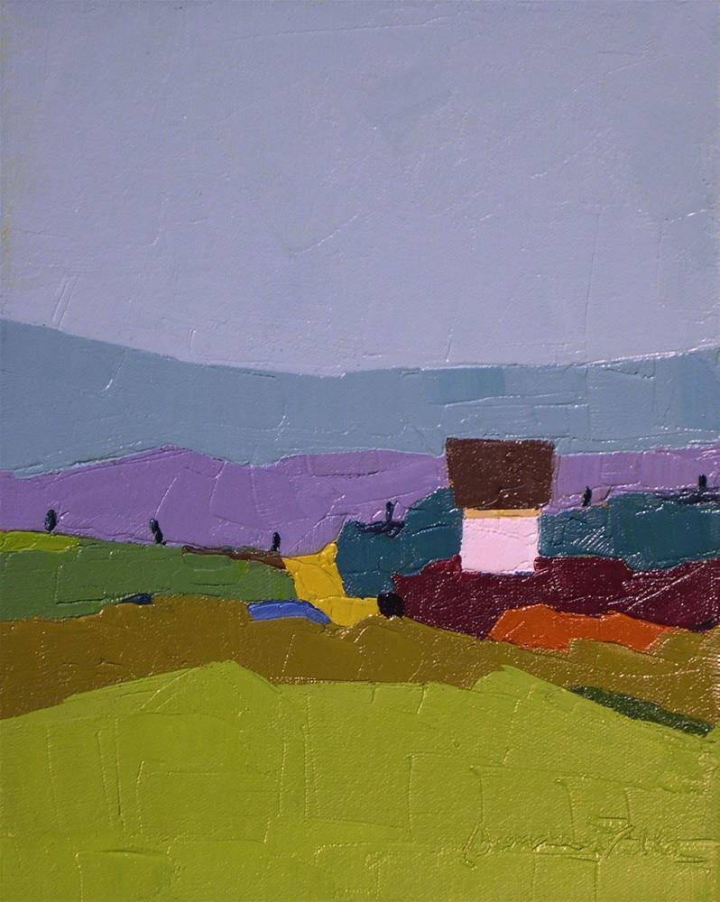"""""""A Quiet Spot III"""" original fine art by Donna Walker"""
