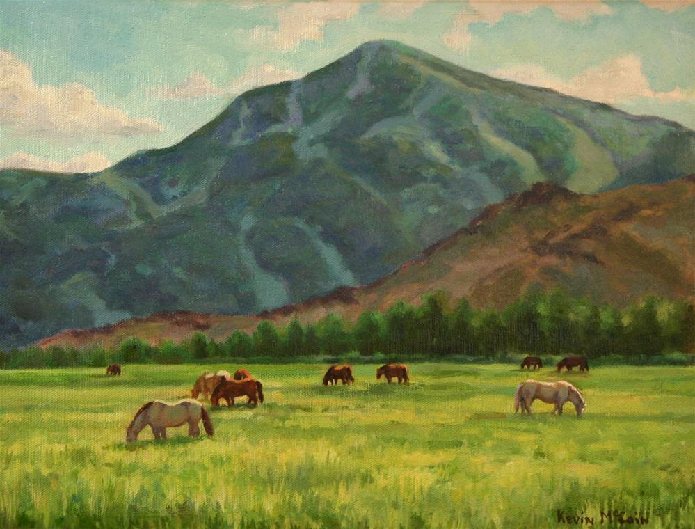 """Lazy Afternoon"" original fine art by K.R. McCain"