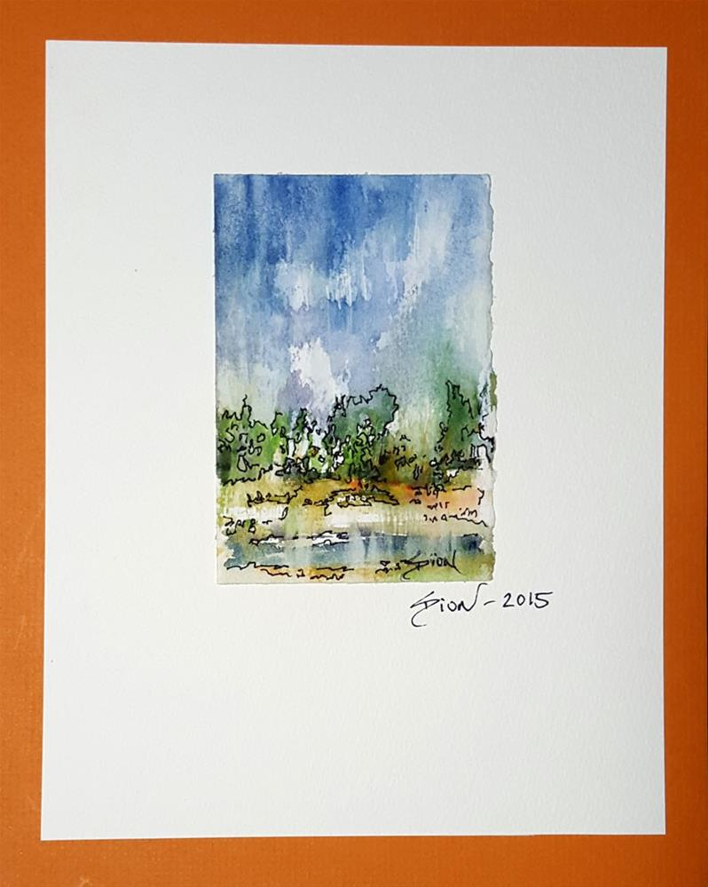 """Medium Landscape 1"" original fine art by Sue Dion"