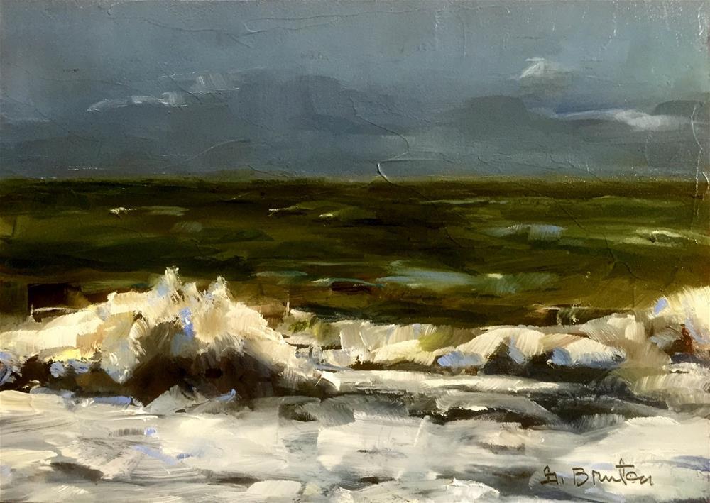 """""""Sea and Sky"""" original fine art by Gary Bruton"""