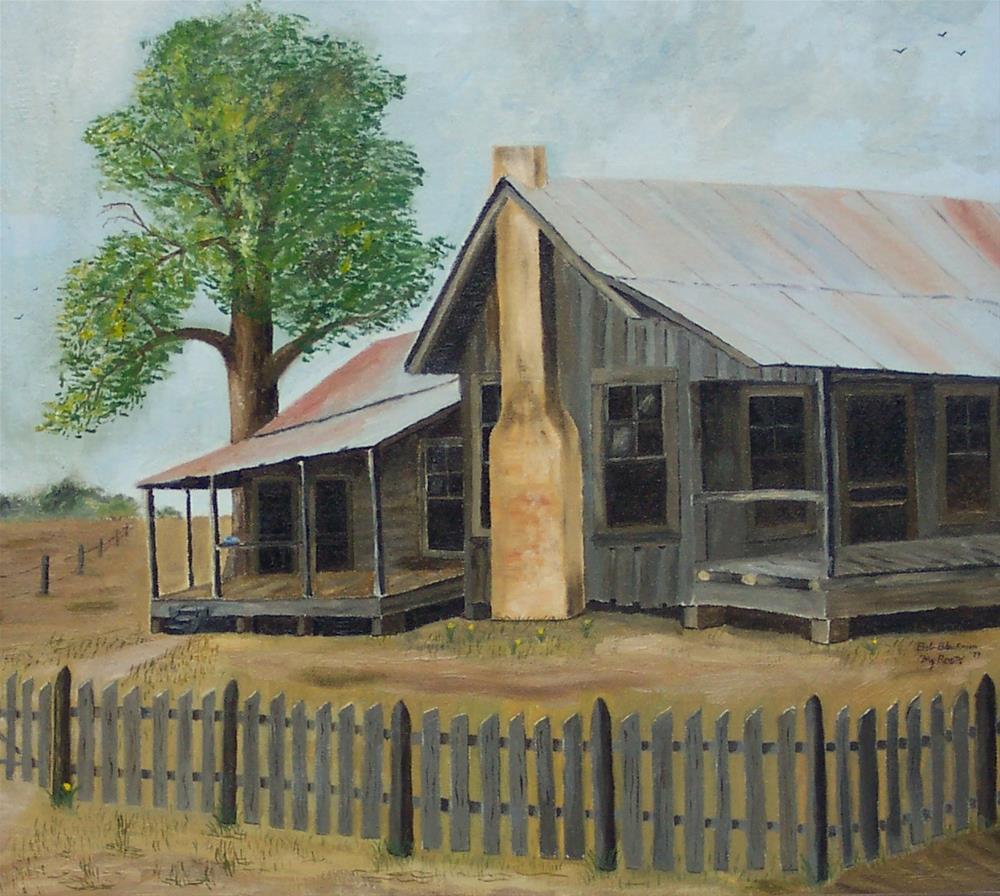 """My Roots"" original fine art by Bob Blackmon"