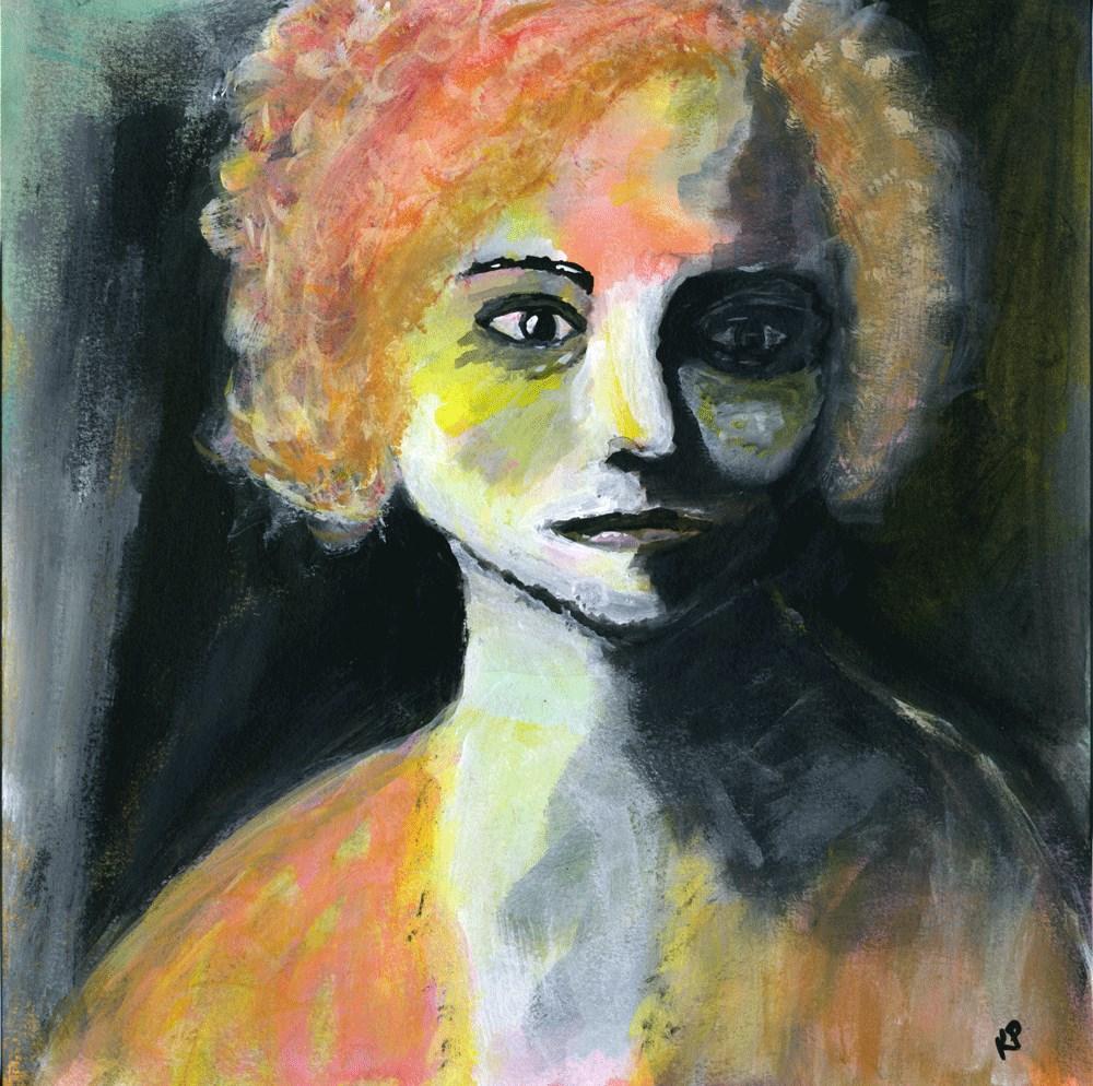 """My Lucretia"" original fine art by Kali Parsons"