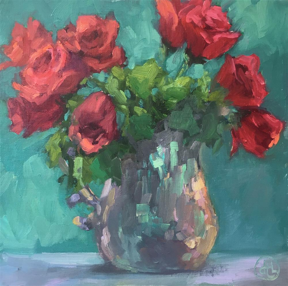 """""""roses are red"""" original fine art by Dottie  T  Leatherwood"""