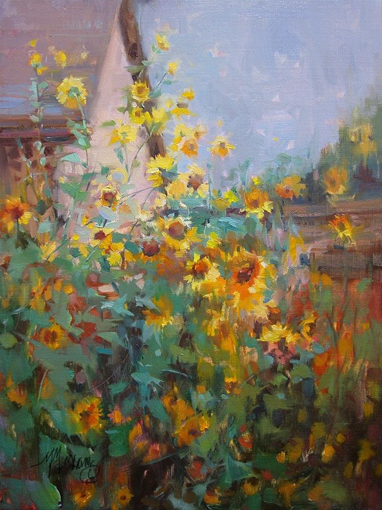 """For The Birds"" original fine art by Mary Maxam"