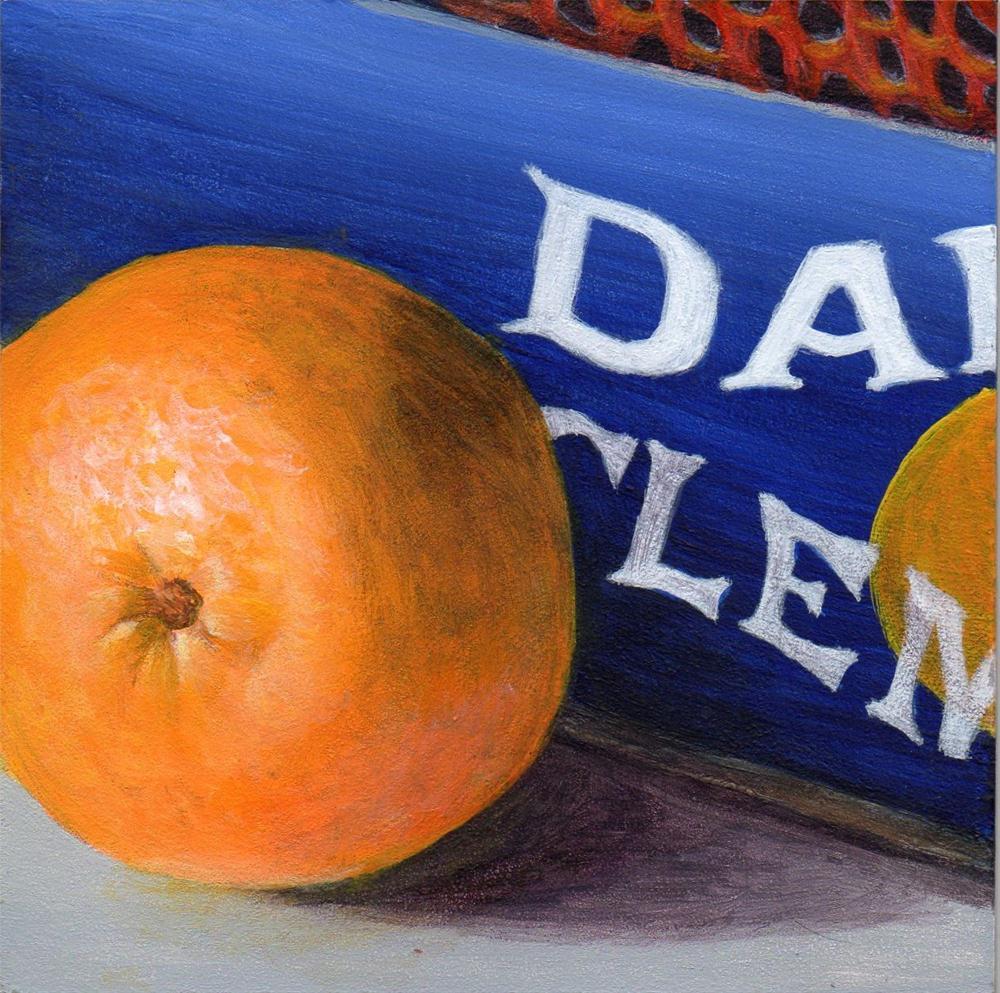 """Darling Clementine"" original fine art by Debbie Shirley"