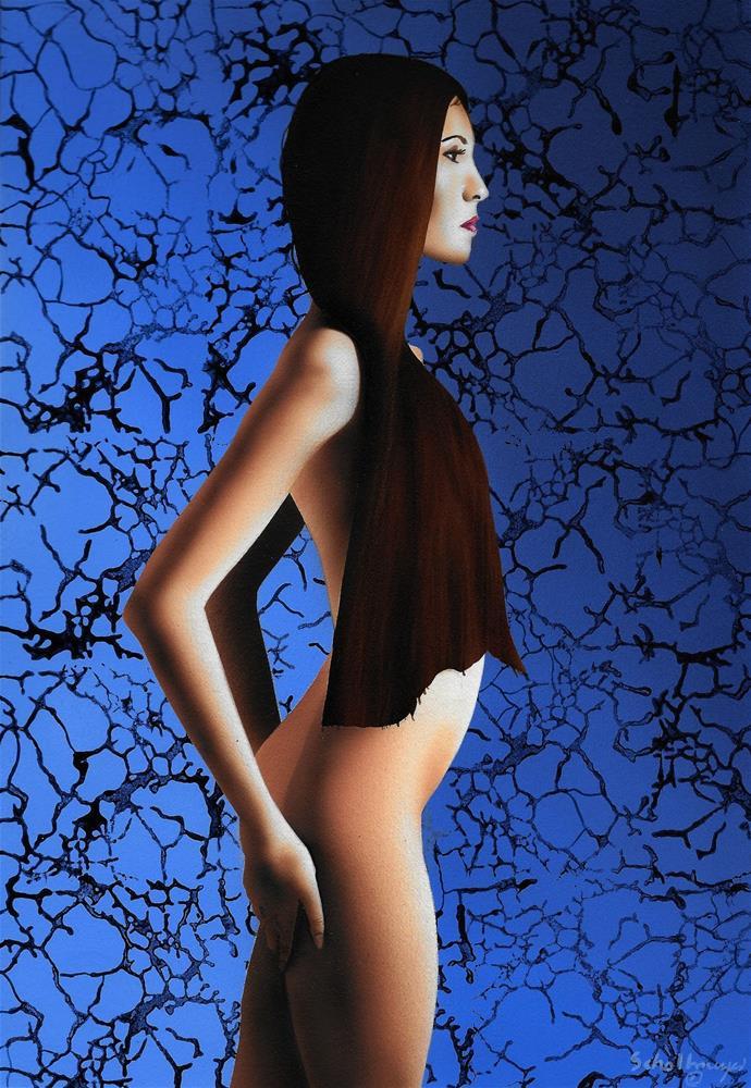 """Nude Study #10"" original fine art by Fred Schollmeyer"