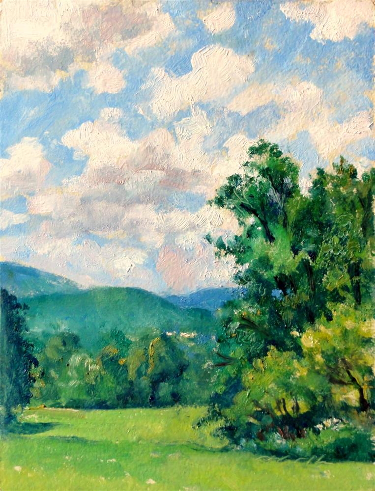 """Spring Light, Berkshires"" original fine art by Thor Wickstrom"