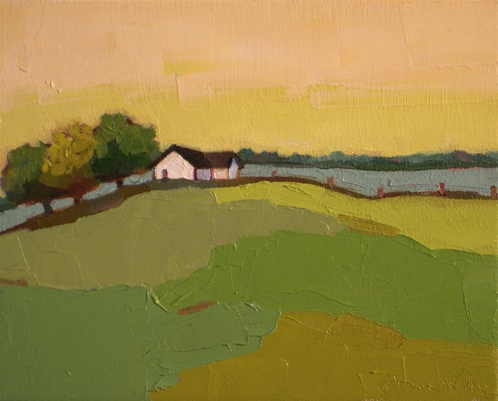 """Coming Home II"" original fine art by Donna Walker"