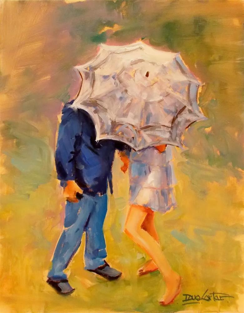 """""""Precious Moments"""" original fine art by Doug Carter"""