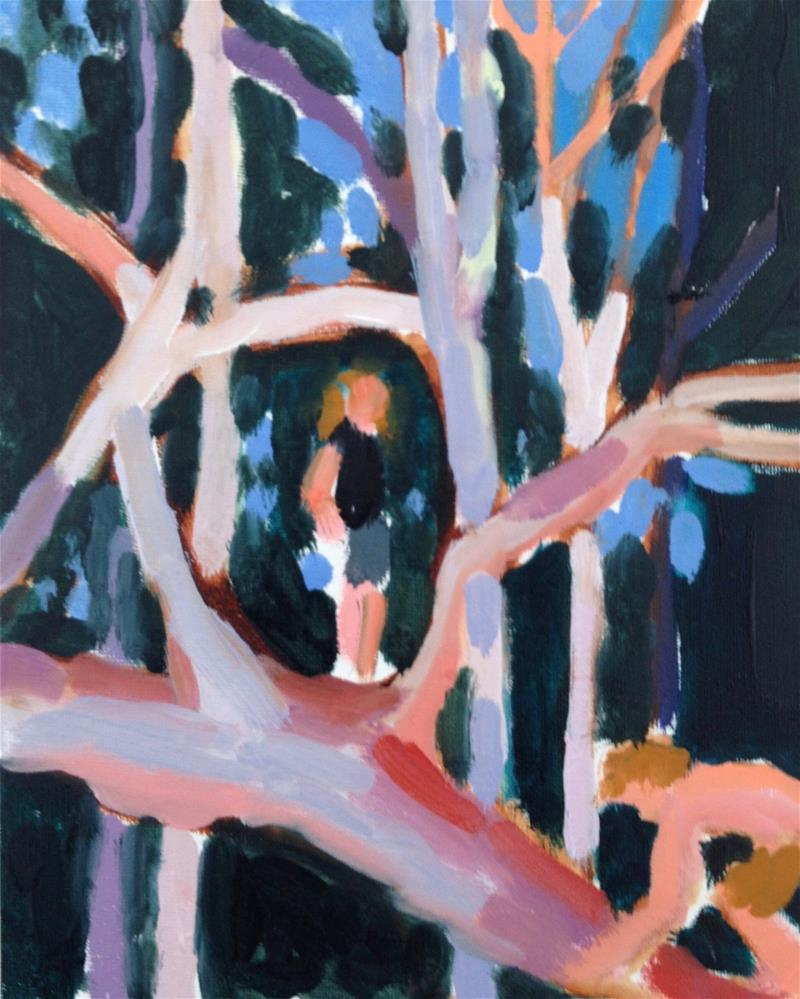 """Young Lions III"" original fine art by Pamela Hoffmeister"