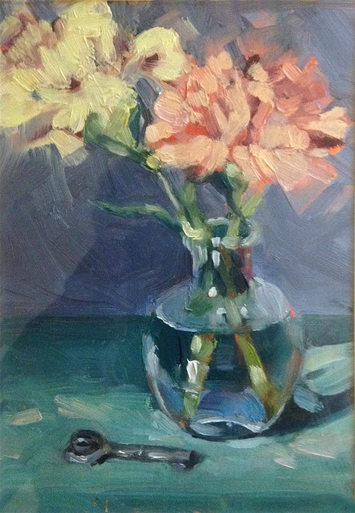 """Skinny Dipping"" original fine art by Nancy Parsons"