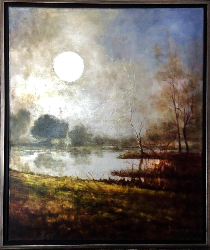 """""""Break of Dawn"""" original fine art by Carole Belliveau"""