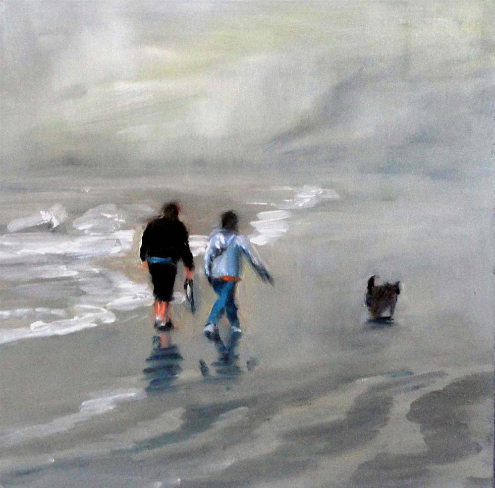 """Walking With Friends"" original fine art by Cietha Wilson"