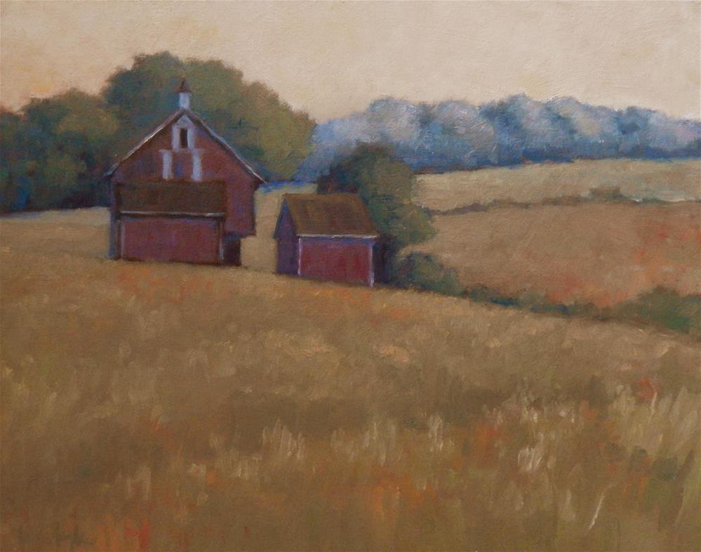 """A Hazy Summer Morning"" original fine art by Lisa Kyle"