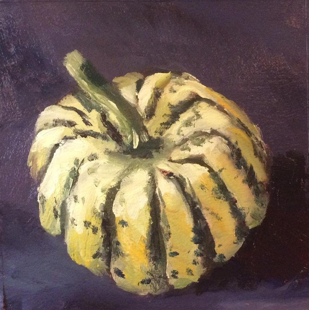 """Mystery Squash"" original fine art by Jenny Kinberg"