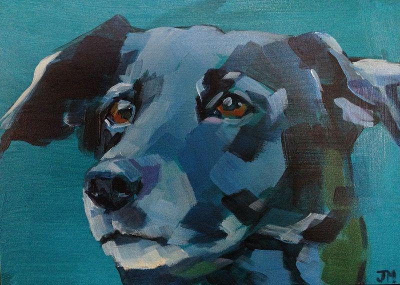 """""""Peppermint"""" original fine art by Jessica Miller"""