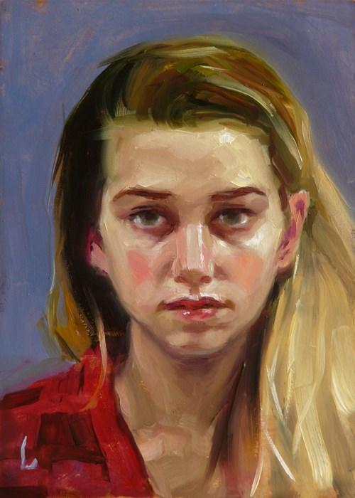"""""""Redden"""" original fine art by John Larriva"""